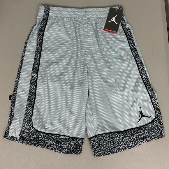 184f1cf3d2f60c Boys air jordan elephant print basketball short